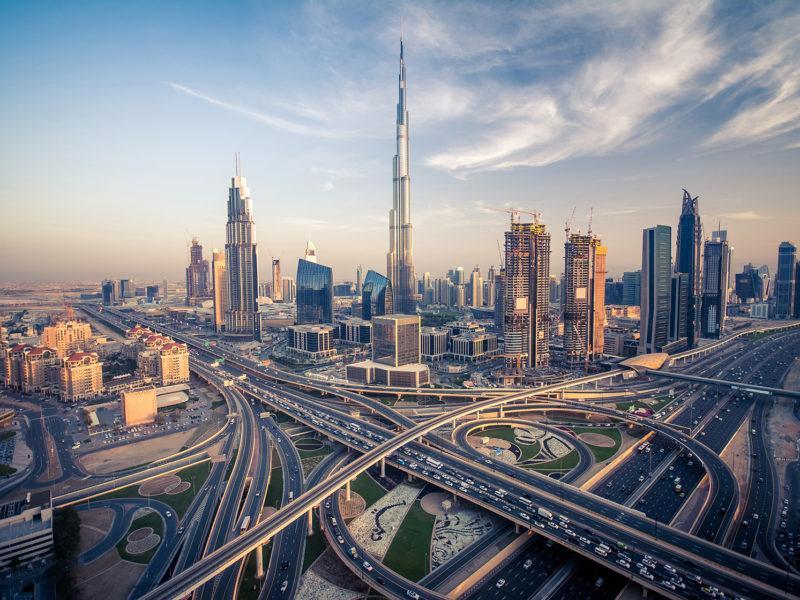 迪拜的Gulfood制造